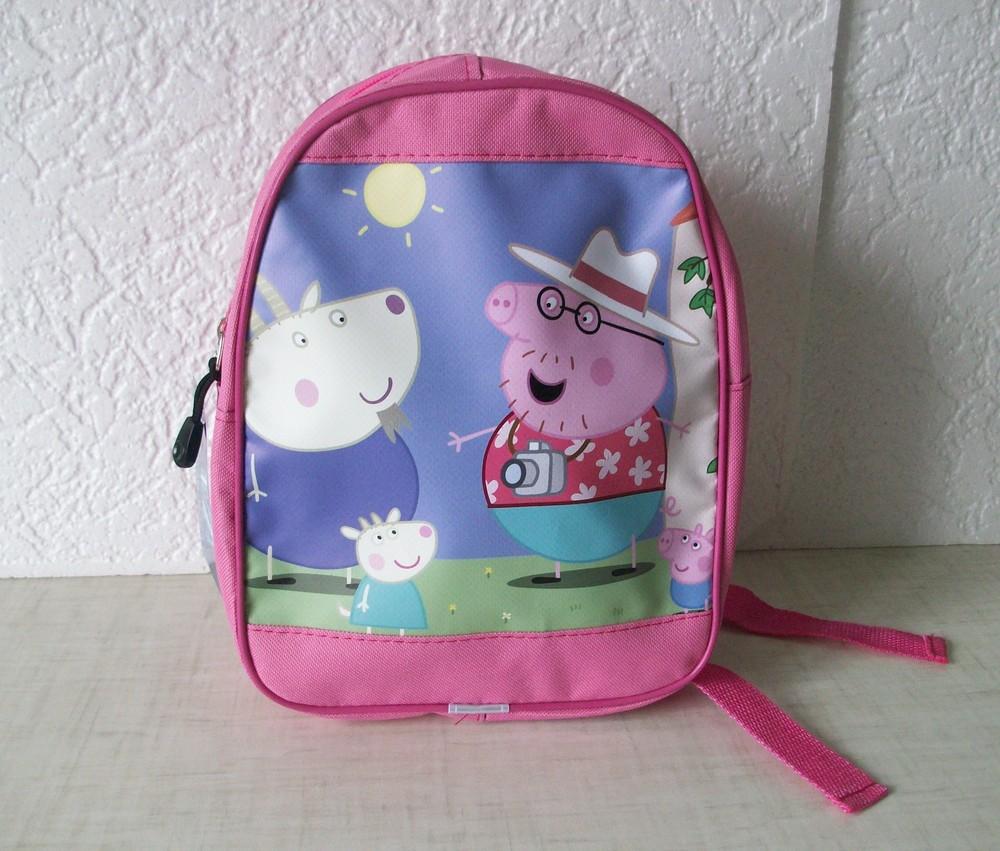 Рюкзак дошкольный для девочек свинка Пеппа фото №1