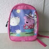 Рюкзак дошкольный для девочек свинка Пеппа