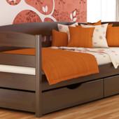 Кровать из массива ольхи Нотта плюс в наличии