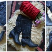 Кожаные сапоги 41 размер