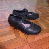 туфли кожа Clarks р. 28 стелька 17.5 см в хорошем состоянии