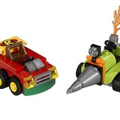 lego super heroes Робин против Бэйна mighty micros robin vs bane 76062