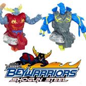 Персонажи из серии BeyWarriors Shogun Steel фирмы Hasbro