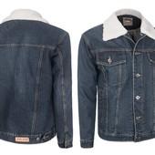 Джинсовая мужская демисезонная куртка