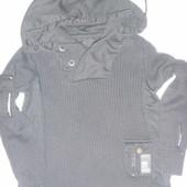 свитер с капюшоном на 5-7 лет