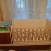 Детская кроватка, кровать-трансформер Дадон