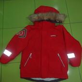 Куртка Didriksons+Подарок! зима на рост110-лимитированная серия!