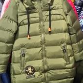 Парка куртка зимняя на подростков.