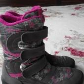 Сапоги, ботинки Geox. Нат.замша-мембрана-шерсть. Размер 38 (24 см)