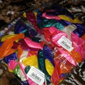 Набор надувных шариков 50 шт!