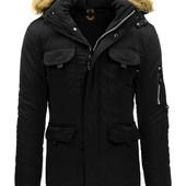 Куртка парка пальто зимнее мужское