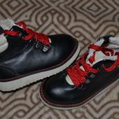 стильные ботинки H&M лёгкие качественные! 13 см стелька одеты пару раз