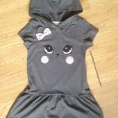 Красивое платье НМ на девочку 4-6 л
