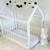 Детская кровать (кровать домик) деревянная мебель в детскую