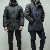 Мужская Куртка Парка  Bizon 2 цвета - размер - s.m.l.xl