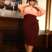 Платье 48-72р. под заказ, большой размер, батал