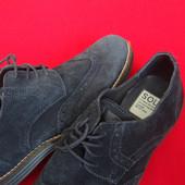 Туфли броги Sole натур замша 42-43 размер