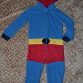 Флисовая пижама слип человечек Superman Matalan 2-3 года Англия