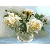 Картина по номерам Чайные розы Turbo VK017