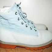 отличные кожаные ботинки 25.5 см