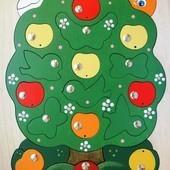 Магнитная мозаика «Яблоня-загадка», Крона Артикул: 143-027
