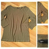 Фирменная льняная кофточка H&M, размер М