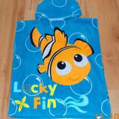 Красивое полотенце Disney для ребенка 2-3 года