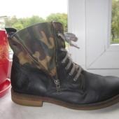 Кожаные ботинки s.Oliver 40 р.