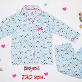 Пижама фланелевая для девочки, Primark! Скидка!