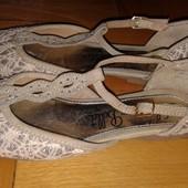 Нарядные туфельки Джордж,отл.сост.стелька 21см,на праздники то что нужно;)
