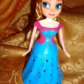 Кукла Frozen . Проектор, свет, музыка