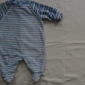человечек велюровый 56см Newborn