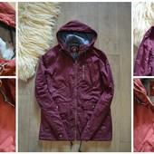 Бордовая куртка размер М-Л