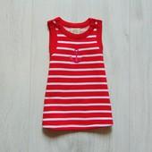 Яркое плотное платье для девочки. No name. Размер 0-1 месяц, будет дольше. Состояние: новой вещи