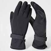 Перчатки мужские софтшел Softshell Тсм Tchibo 9,5