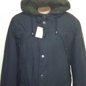 Мужская куртка от Takko (германия) , размер ХЛ, цвет темно- синий