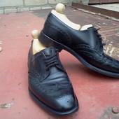 Туфли броги Saxone р-р. 42-42.5-й