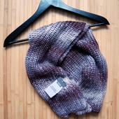 Теплый вязанный шарф M&S, унисекс