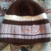 двойная шерстяная шапка в состоянии новой