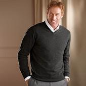 Теплый мужской пуловер свитер р.52 L Тcm Tchibo Германия