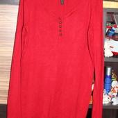 XS-S Новый свитер ярко-красного цвета Naf Naf