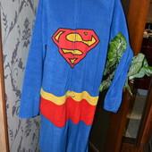 Флисовый слип пижамка спайдермен XL.Укр почта +13 грн.