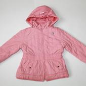 5-6 лет. Деми куртка на флисовой подкладке
