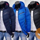 Мужская демисезонная теплая куртка