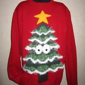 На ОГ 90-93см Классный свитер Cedar р-р М