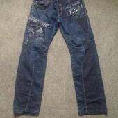 Джинсы на 34/L от K&M jeans. Смотрим замеры и фото в магазине.