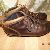 (130)фирменные кожаные ботинки 43-44 р (10,5 M) Timberland