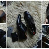 Идеальные туфли-оксфорды Англия,р-р 44