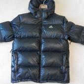 Бронь Пуховик пуховая куртка Adidas оригинал черный 48-50