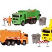 Распродажа - Мусоровоз двигающиеся элементы от Dickie Toys Германия